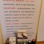 Des informations sur les huiles choisies